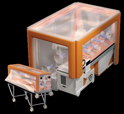 Pelta kit de confinement deployable patients hautement infectieux